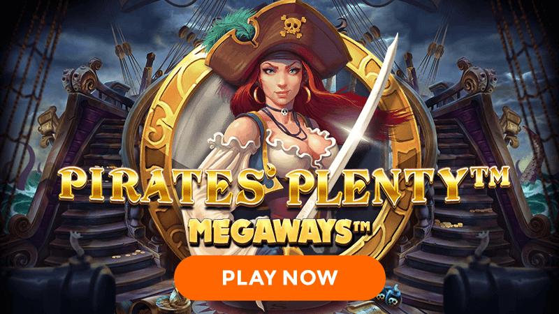 pirates plenty megaways signup