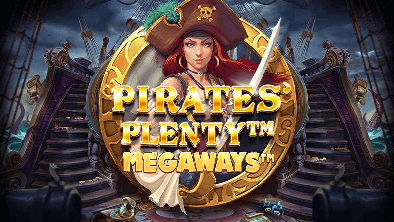 pirates plenty megaways slot logo
