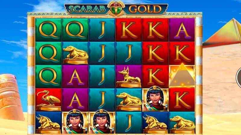scarab gold slot gameplay