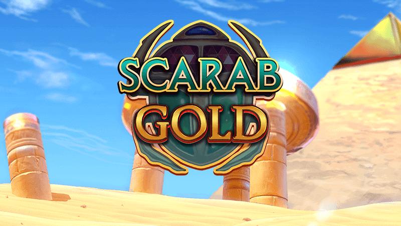 scarab gold slot logo