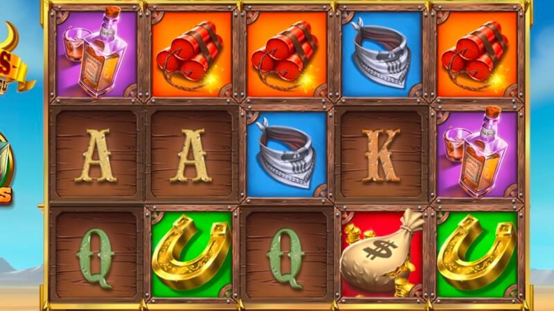 sticky bandits 3 slot gameplay