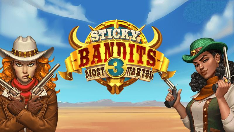 sticky bandits 3 slot logo