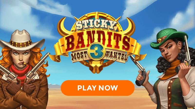 sticky bandits 3 slot signup