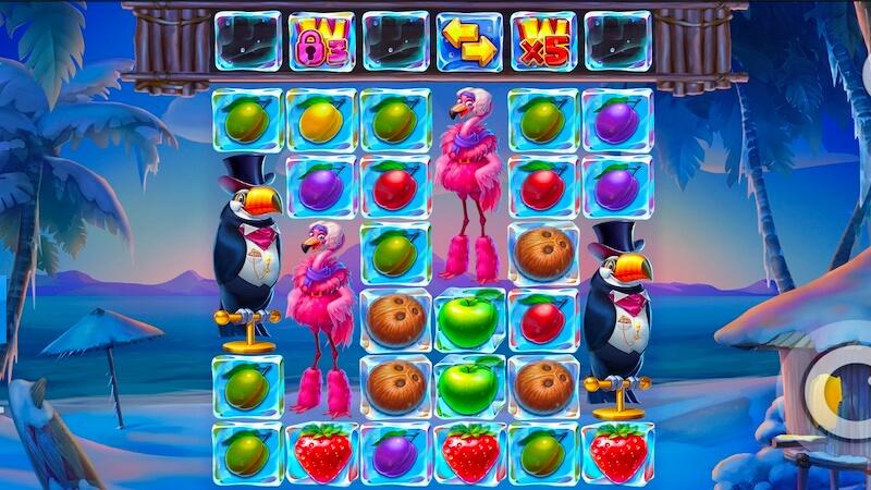 tropicool slot gameplay