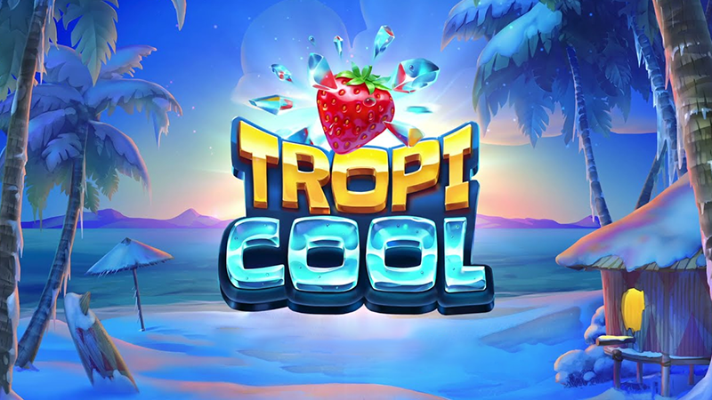 tropicool slot logo