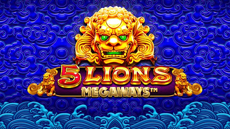 5 lions megaways slot logo