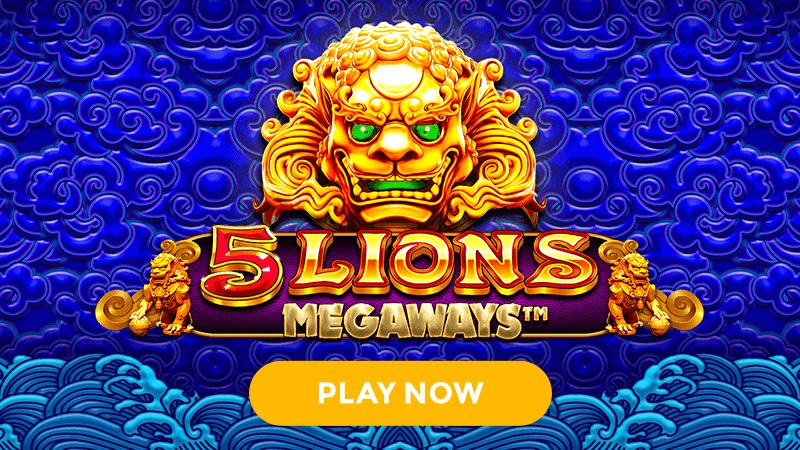 5 lions megaways slot signup