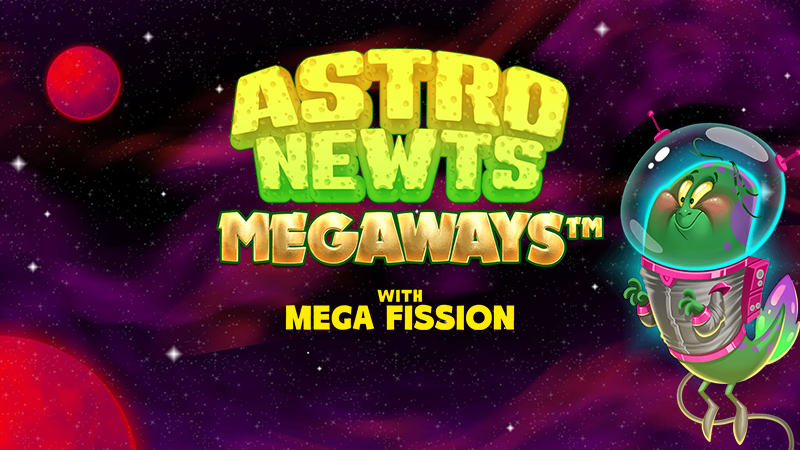 astro newts slot logo