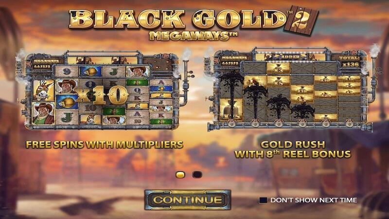 black gold 2 rules