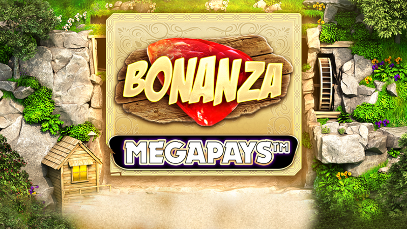 bonanza megaplays slot logo