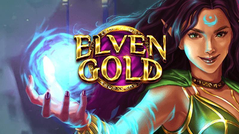 elven gold slot logo