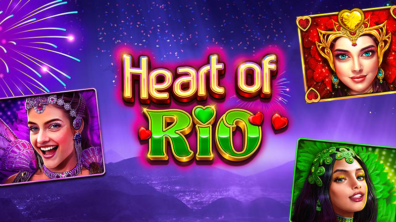 heart of rio slot logo