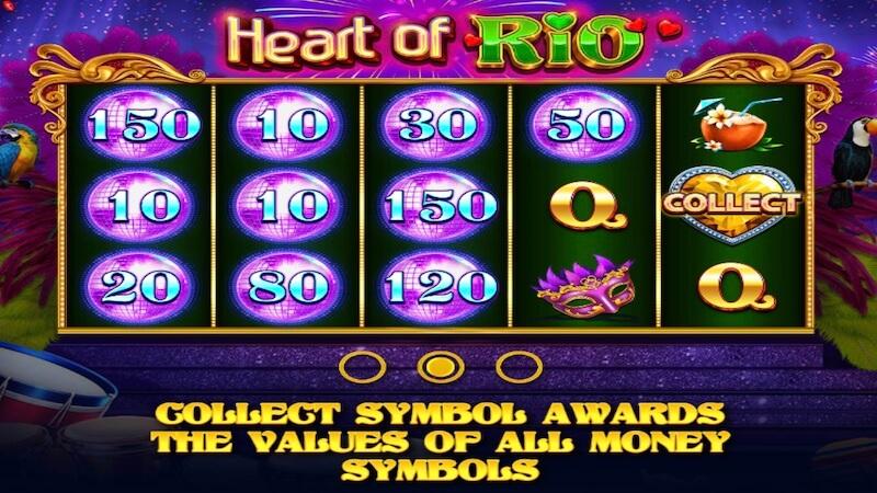 heart of rio slot rules