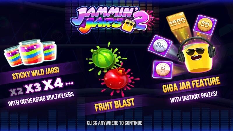jammin jars 2 slot rules