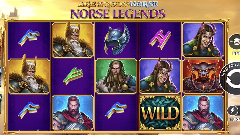 norse legends slot gameplay