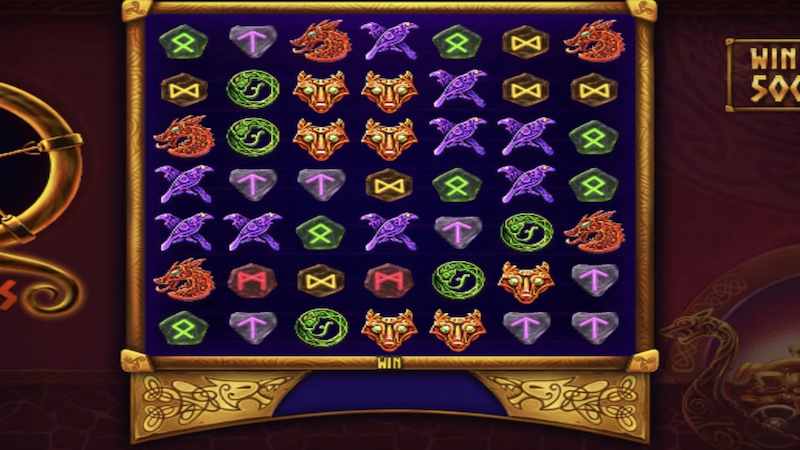 odins riches slot gameplay