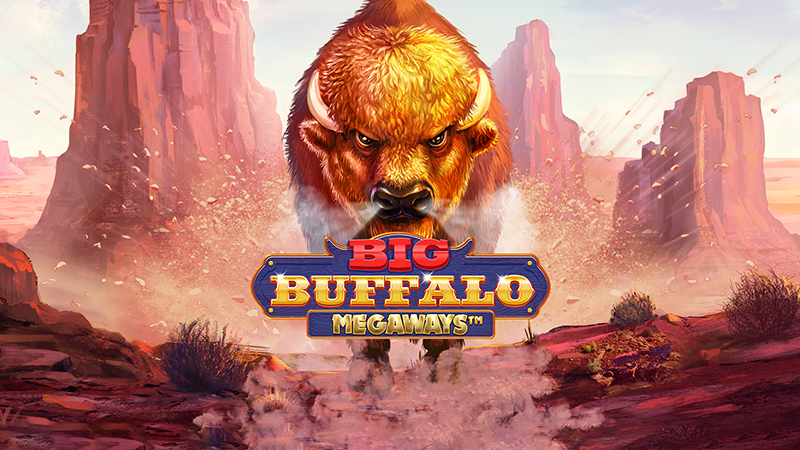 big buffalo megaways slot logo