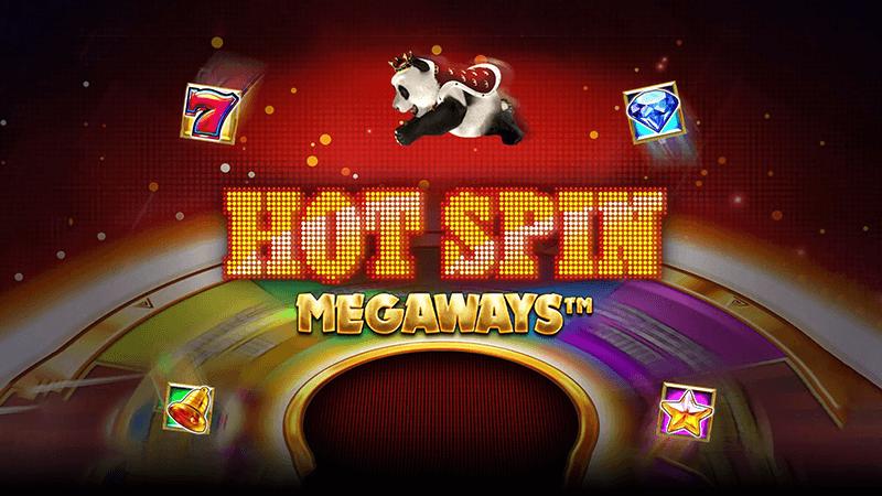 hot spin megaways slot logo