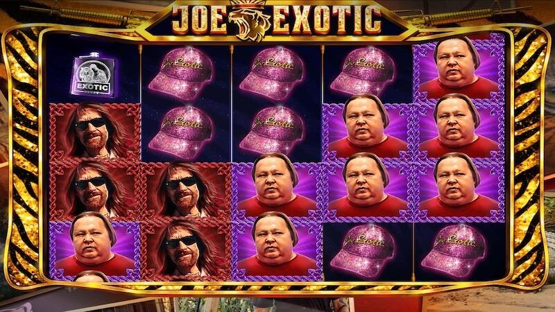 joe exotic slot gameplay