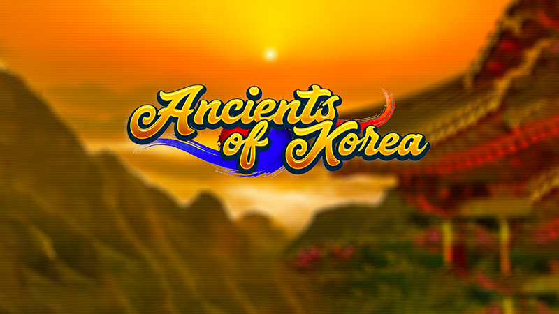 ancients of korea slot logo