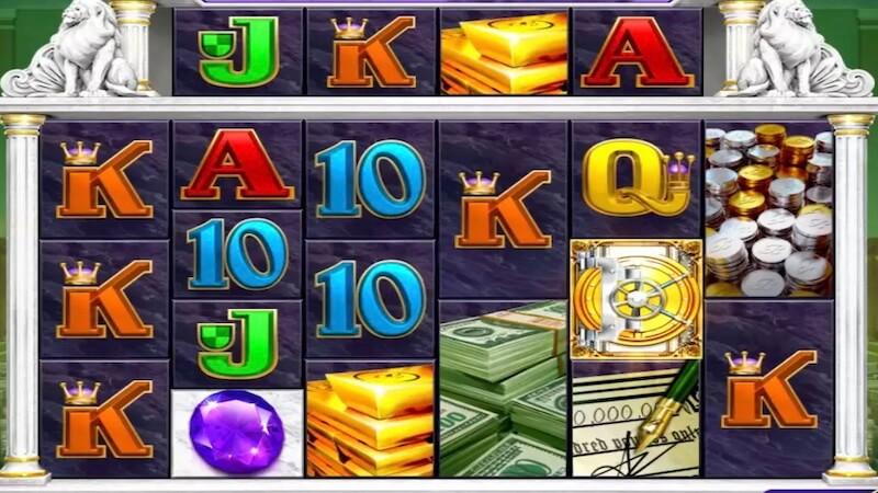 break da bank slot gameplay