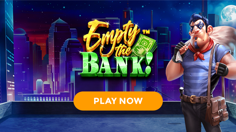 empty the bank slot signup