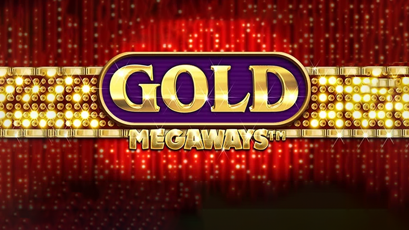 gold megaways slot logo