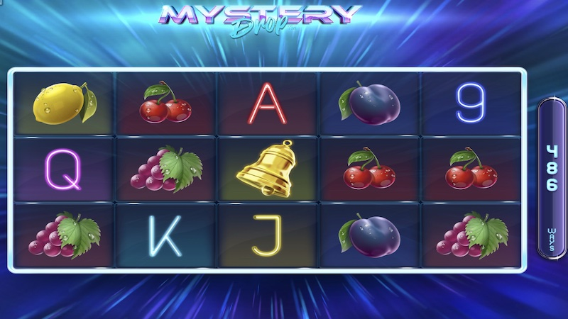 mystery drop slot gameplay
