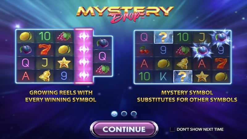 mystery drop slot rules