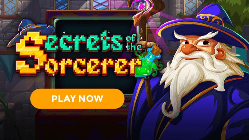 secrets of the sorcerer slot signup