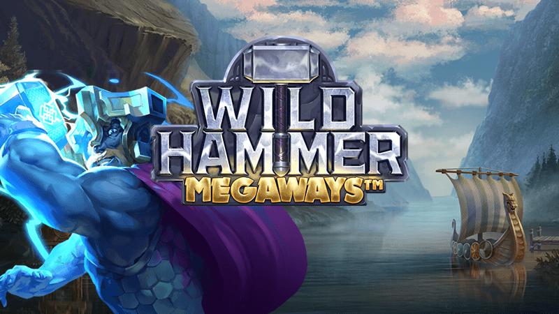 wild hammer slot logo
