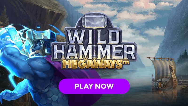 wild hammer slot signup