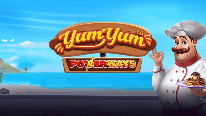 yum yum megaways slot logo