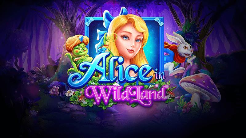 alice in wildland slot logo