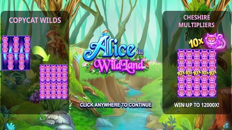 alice in wildland slot rules
