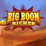 big boom riches slot logo
