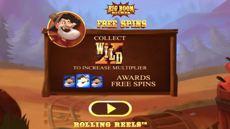 big boom riches slot rules