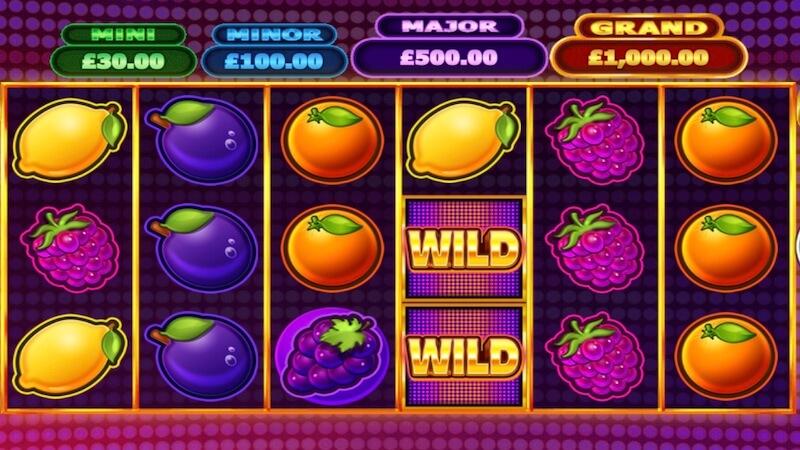 bonus fruits slot gameplay