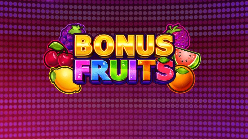 bonus fruits slot logo