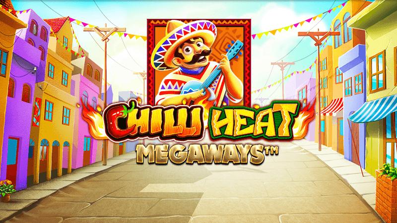 chilli heat megaways slot logo