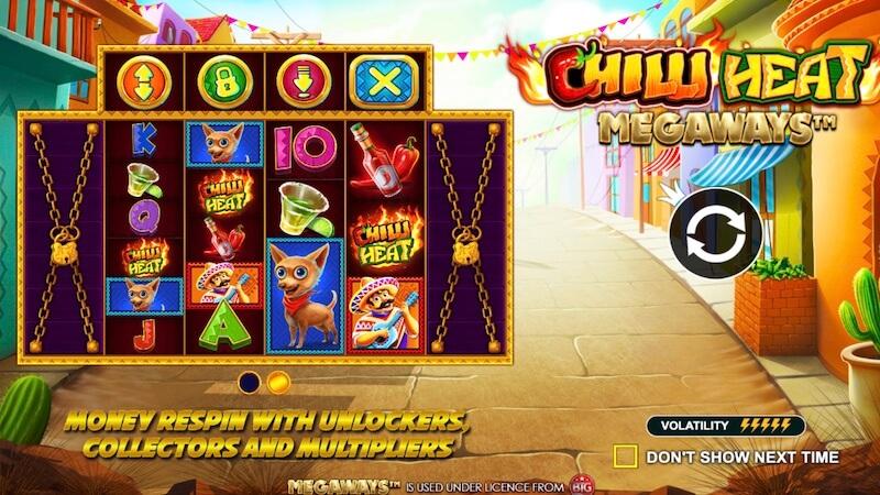 chilli heat megaways slot rules