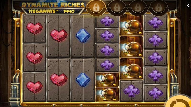 dynamite riches slot gameplay