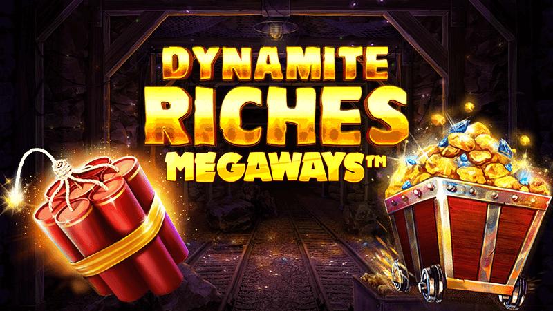 dynamite riches slot logo