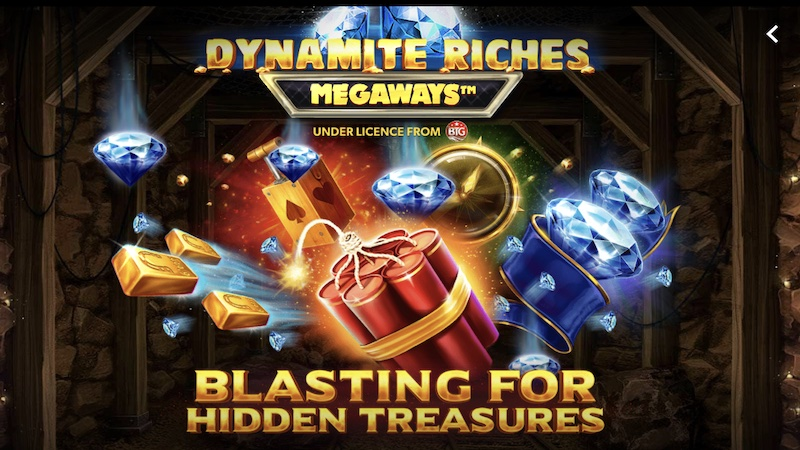 dynamite riches slot rules