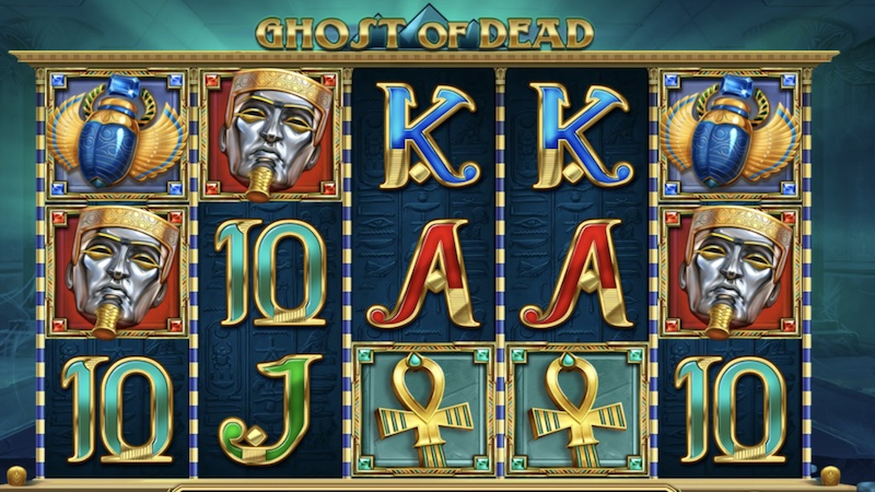 ghosts of dead slot gameplay