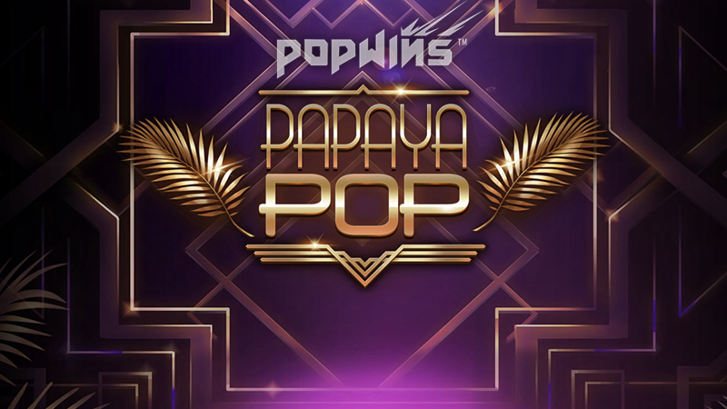 papayapop slot logo