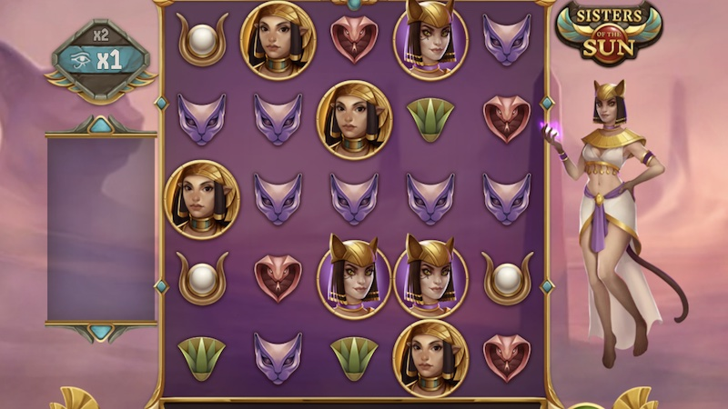 sisters of the sun slot gameplay