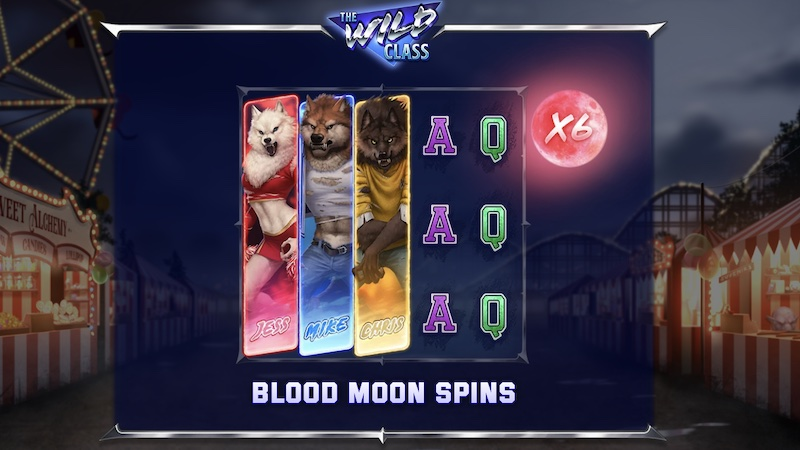 the wild class slot rules