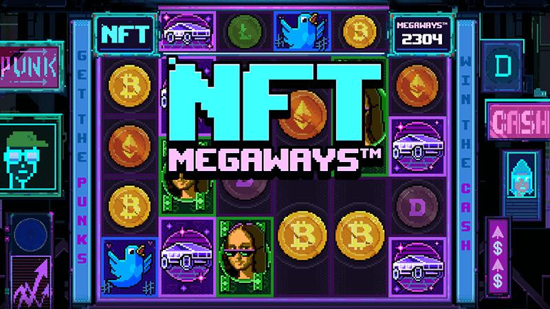 NFT Megaways slot logo