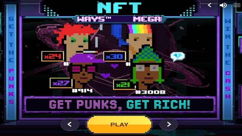 NFT Megaways slot rules